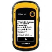 "Garmin eTrex 10 Handheld GPS Receiver 2.2"" - Monochrome - USB 010-00970-00"