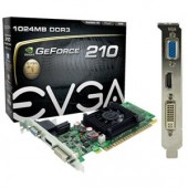 EVGA 01G-P3-1312-LR GeForce 210 Graphics Card 1GB DDR3 SDRAM  HDMI  DVI VGA New