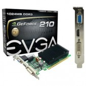 EVGA GeForce 210 Graphics Card 1 GB DDR3 SDRAM PCIe HDMI DVI VGA 01G-P3-1313-KR