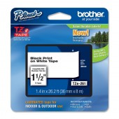 Brother TZe-261 Thermal Label 36mm Width Thermal Transfer White For 530 550 550A