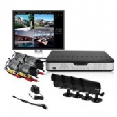 Zmodo Surveillance PKD-DK4216-500GB 4 Ch. CCTV Security DVR LED Camera System