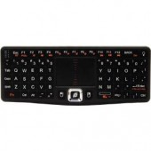 Visiontek 900508 Wireless Mini Keyboard with Touchpad Black QWERTY For PC Mac