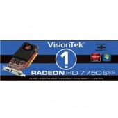 Visiontek Radeon HD 7750 Graphic Card - 1 GB DDR3 SDRAM - PCI-Express 3.0 x16 -