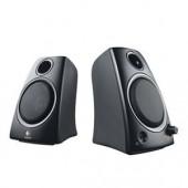 Logitech Z130 2 Channel PC Speaker System Black 5W RMS Headphone Jack 980-000417