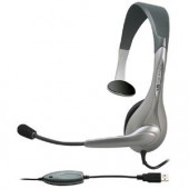 Cyber Acoustics AC-840 Over-the-head USB Mono Headset