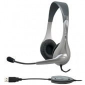 Cyber Acoustics AC-850 USB Wired Headset Over-the-head AC-850 FOR PC AND MAC NEW