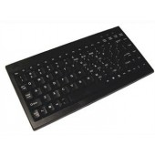 Adesso ACK-595UB Mini Wired Keyboard USB QWERTY Black 12 function keys For PC