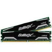 Crucial BLS2KIT8G3D1609DS1S00 Ballistix Sport 16GB DDR3-1600 Desktop Memory New