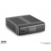 """M350 Universal Mini-ITX Enclosure Up to two 2.5"""" drives"""
