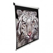 """Elite Screens Manual Wall and Ceiling Projection Screen 83"""" x 83"""" M113NWS1 NEW"""