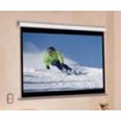 "Elite Screens M84NWV Manual Projection Screen 53"" H x 69"" W 84"" Wall Ceiling Mnt"