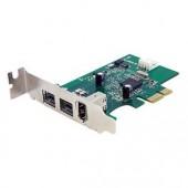 StarTech PEX1394B3LP 3-port 2b 1a LP 1394 PCI Express FireWire Card FireWire 800