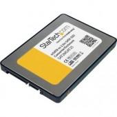 StarTech.com SAT2MSAT25 2.5in SATA to Mini SATA SSD Adapter Enclosure Serial ATA