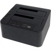 StarTech eSATA USB to SATA Standalone Hard Drive Duplicator Dock SATDOCK22RE