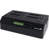 StarTech 4 Bay USB 3.0 eSATA to SATA Standalone 1:3 Hard Drive Duplicator Dock