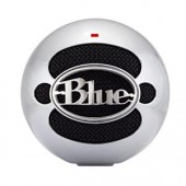 Blue Microphones SNOWBALLALUMINUM USB Microphone Wired Made In Aluminum New