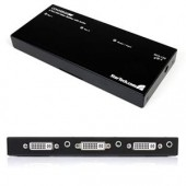 StarTech ST122DVIA 2 Port DVI Video Splitter with Audio DVI-I in and out WUXGA