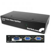 NEW STARTECH 2 POT VGA VIDEO SPLITTER/DISTRIBUTION AMP.