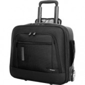 "Targus Revolution Carrying Case (Roller) for 15.6"" Notebook - Black"