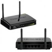 TRENDnet TEW-731BR Wireless Router - IEEE 802.11n 2 x Antenna 4 x Network Port