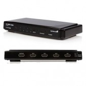 StarTech VS410HDMIE 4-to-1 HDMI Video Switch with Remote Control